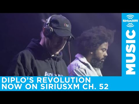 Diplo launches his own channel on SiriusXM | Diplo's Revolution (Ch. 52)