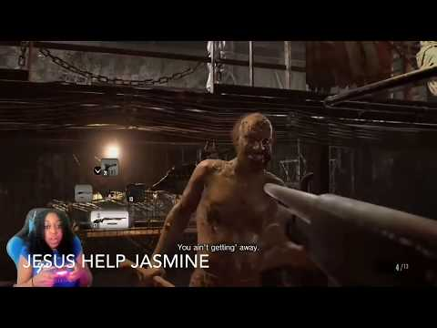 JazzyGuns Funniest And Most Frighted Moments In Resident Evil 7 Biohazard Episode 2