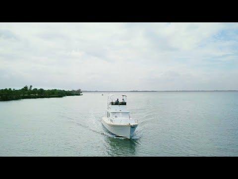 Family Life on a Huckins Yacht