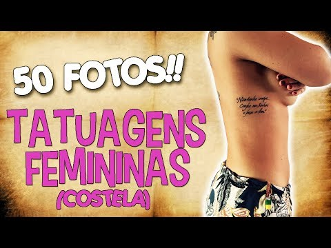 TATUAGENS FEMININAS (COSTELA) «50 Fotos»