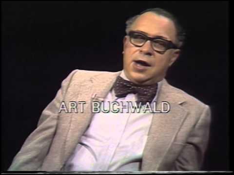 Day at Night:  Art Buchwald, newspaper columnist