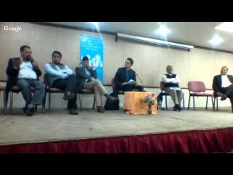 Young citizen-led dialogue in the context of Terai-Madhesh Movement (Discussion after 8 min)