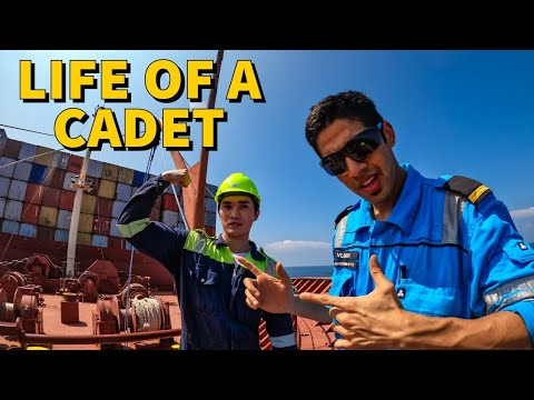 A Day In The Life Of A CADET In Merchant Navy Ship's