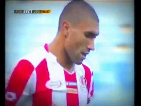 Amazing Goal! Ibrahim El Bahri (Fath Union Sport de Rabat) 1-0 v Union Douala