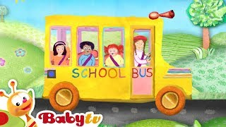 The Wheels on the Bus - Nursery Rhymes - By BabyTV
