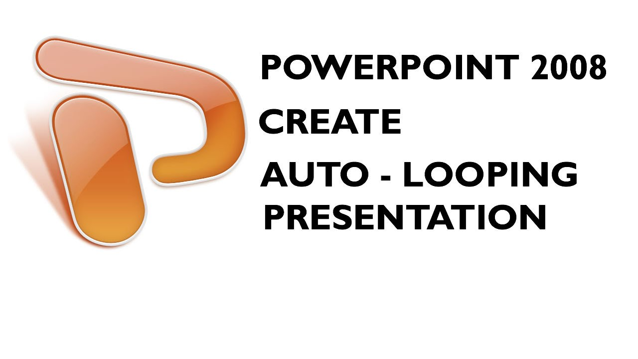 Auto repeat slideshow powerpoint presentation