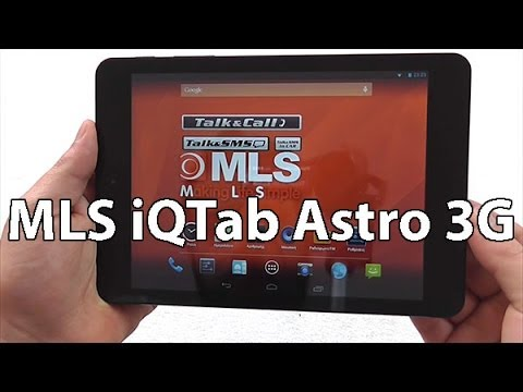 MLS iQTab Astro 3G Hands on Review