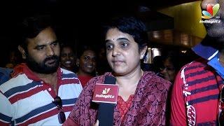 Uthama Villain Public Review  | Tamil Movie |  Kamal Hassan, Andrea Jeremiah, Pooja Kumar, Nassar,