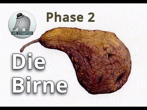 Die Birne Phase 2 - harte Schale weicher Kern
