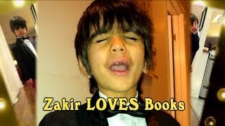 Zakir Loves Books!