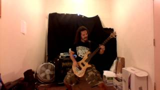 CROWBAR- The Cemetery Angels (BASS Cover)