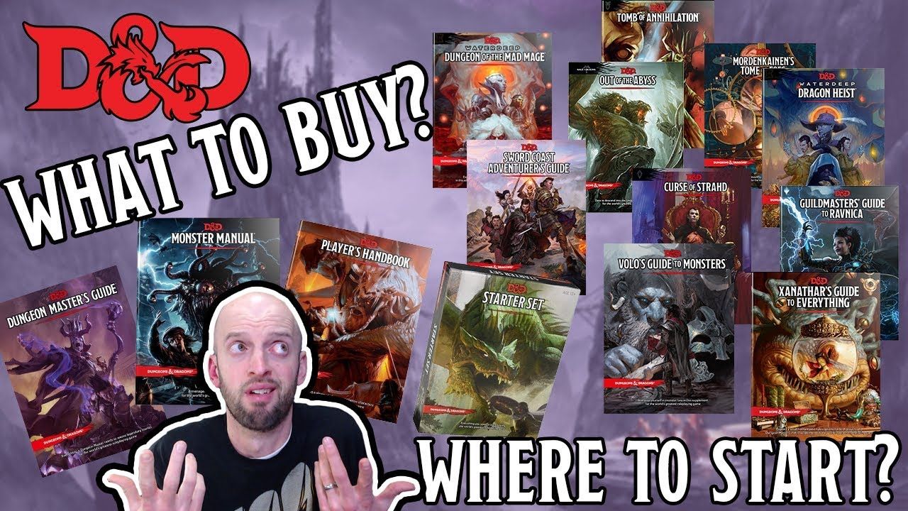 The D&D 5th Edition Buyer's Guide - Where should you start?