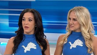 Detroit Lions cheerleaders ready for 2nd season