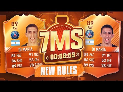 **NEW RULES** 89 MOTM DI MARIA 7 MINUTE SQUAD BUILDER!! - FIFA 17 ULTIMATE TEAM