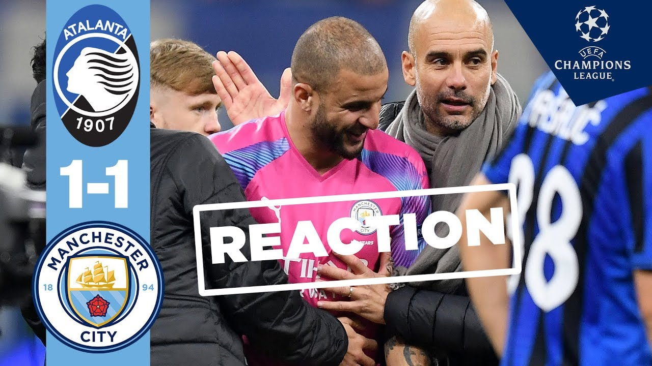 ผลการค้นหารูปภาพสำหรับ GUARDIOLA PROVIDES EDERSON UPDATE | Atalanta 1-1 Man City, Post Match Conference