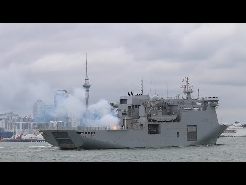 Royal New Zealand Navy Turns 75