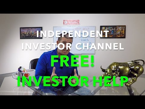 Stock Market Investing Help for FREE | Attention New Investors!