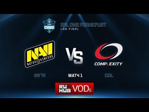 ESL One Frankfurt: Natus Vincere vs. compLexity - Game 1