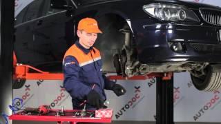 Hvordan bytte Styrespindel-strekkstang-ende på BMW 7 E65 [Bruksanvisning]