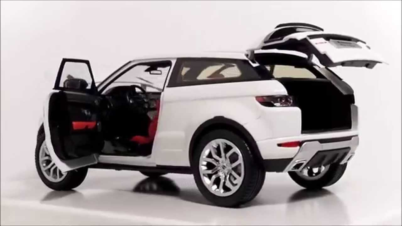 welly gt autos 1 18 range rover evoque youtube. Black Bedroom Furniture Sets. Home Design Ideas