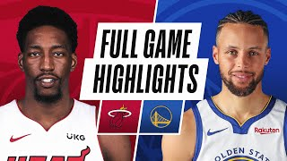 Game Recap: Warriors 120, Heat 112