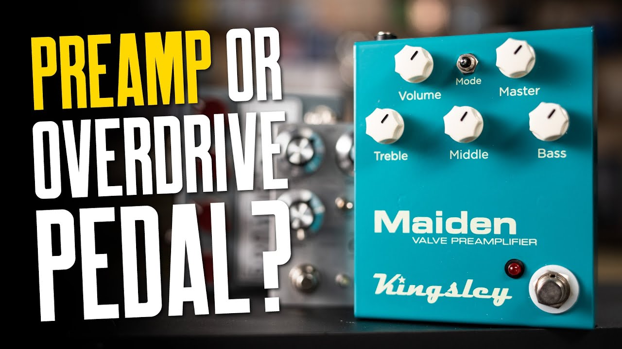 What Is A Guitar Preamp & Why Would You Have One? – That Pedal Show