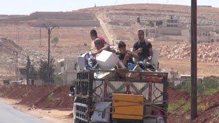 200 ألف هجروا منازلهم في حلب والأسد يستخدم أسلحة محظورة