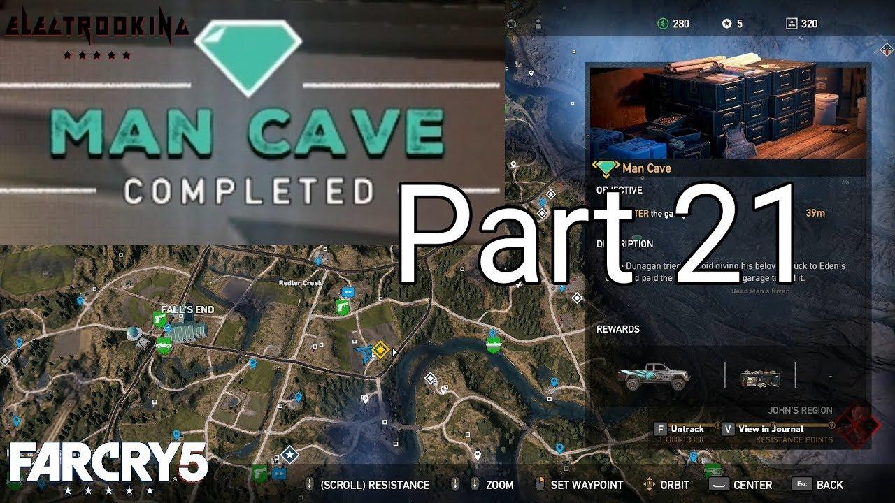 Man Cave Far Cry 5 Walkthrough : Far cry walkthrough gameplay part man cave pc p fps
