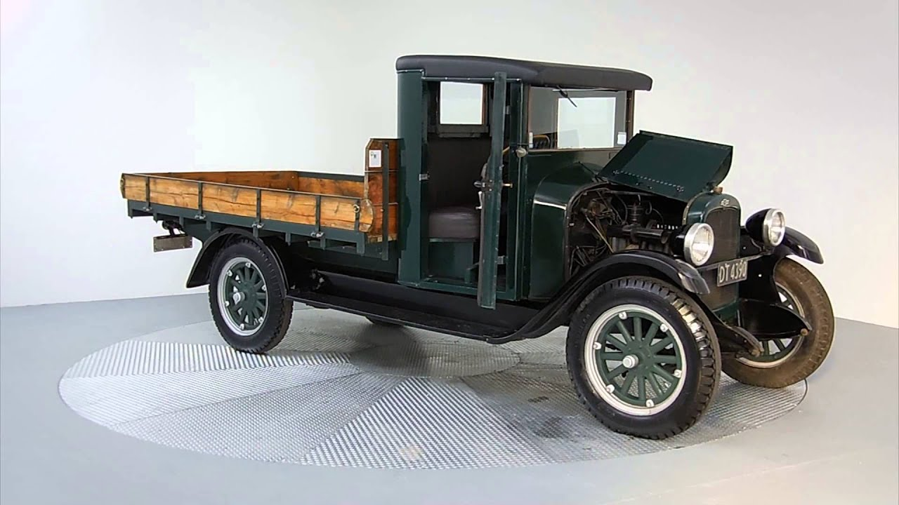 1926 chevrolet 4x2 flatdeck for auction at manheim