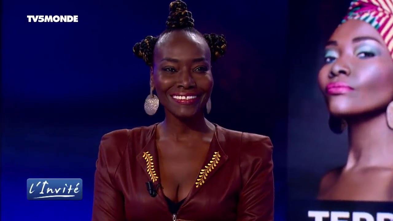 Coumba Gawlo dans la rubrique l'invité sur TV5 Monde