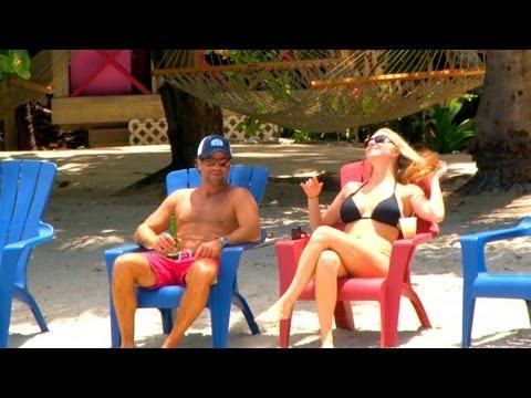 Backyard Scenes - Foxy's Beach Bar in Jost Van Dyke, BVI, Caribbean
