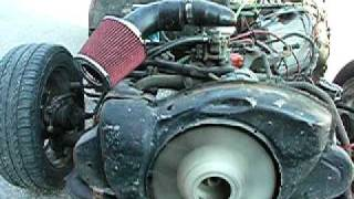 Citroen Dyane engine GS