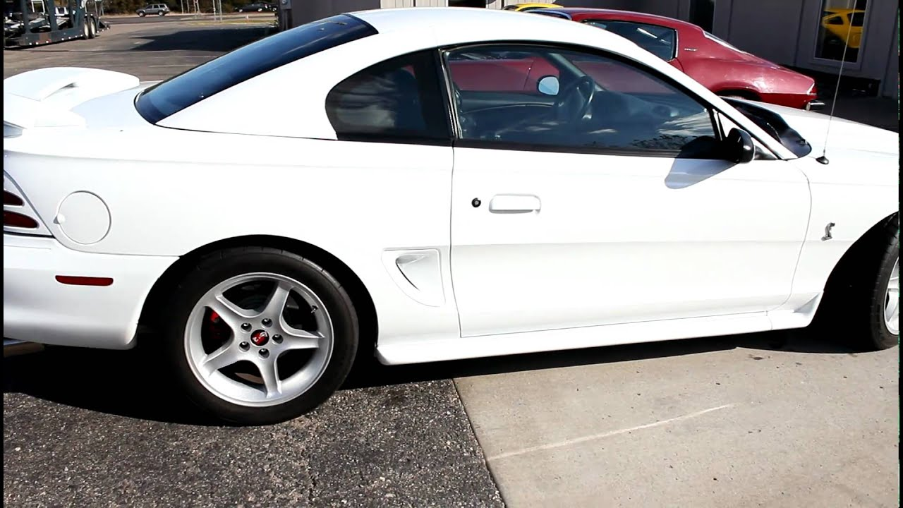 1995 mustang cobra for sale mint condition youtube. Black Bedroom Furniture Sets. Home Design Ideas