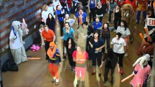 Airdrie Flash Mob 2014 Alberta Summer Games Bid