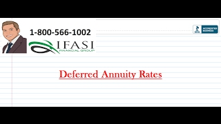 Deferred Annuity Rates