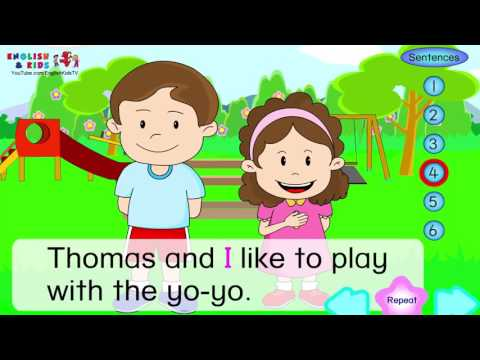 Simple English Conversation Dialogues for Kids +Children with Subtitle   English for Children +Kids