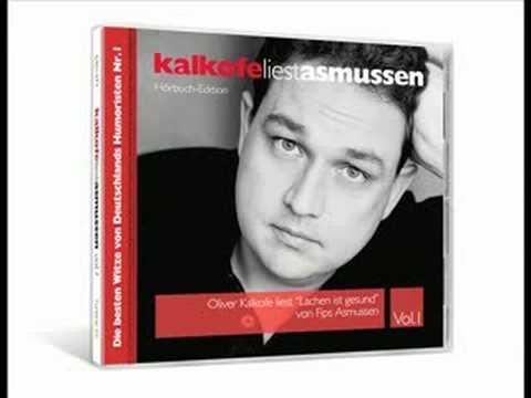 """Oliver Kalkofe Liest """"Lachen Ist Gesund"""" Von Fips Asmussen"""