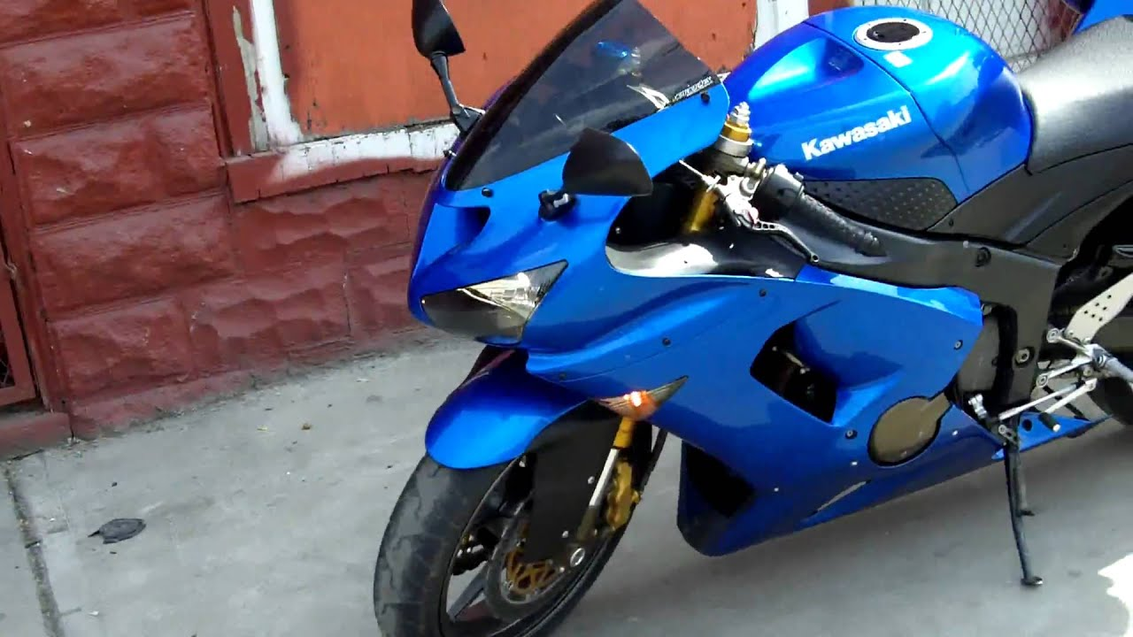 Plasma Blue Kawasaki Ninja Zx6r Zx636 Sold Youtube