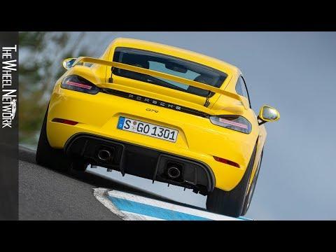2020 Porsche 718 Cayman GT4 Road & Track Driving | Racing Yellow