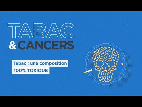 Tabac & cancers : tabac, une composition 100% toxique