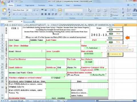 Free Step By Step Guide For E-Filing Income Tax Return (ITR) Online (India)