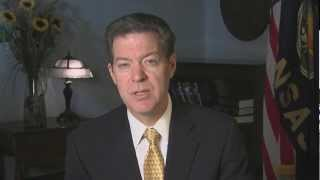 4/6/13 Gov. Sam Brownback (R-KS) Delivers Weekly GOP Address On Reforming Government State By State