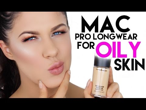 Mac Pro Longwear Foundation For Oily Skin 12 Hour Wear Test Review You