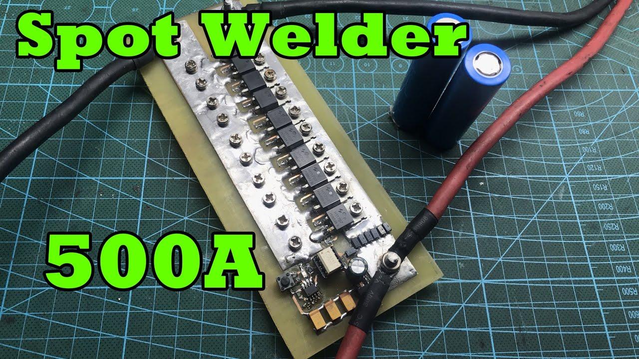 Make powerful spot welder 18650 battery