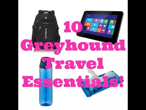 What To Take on a Greyhound Bus Trip