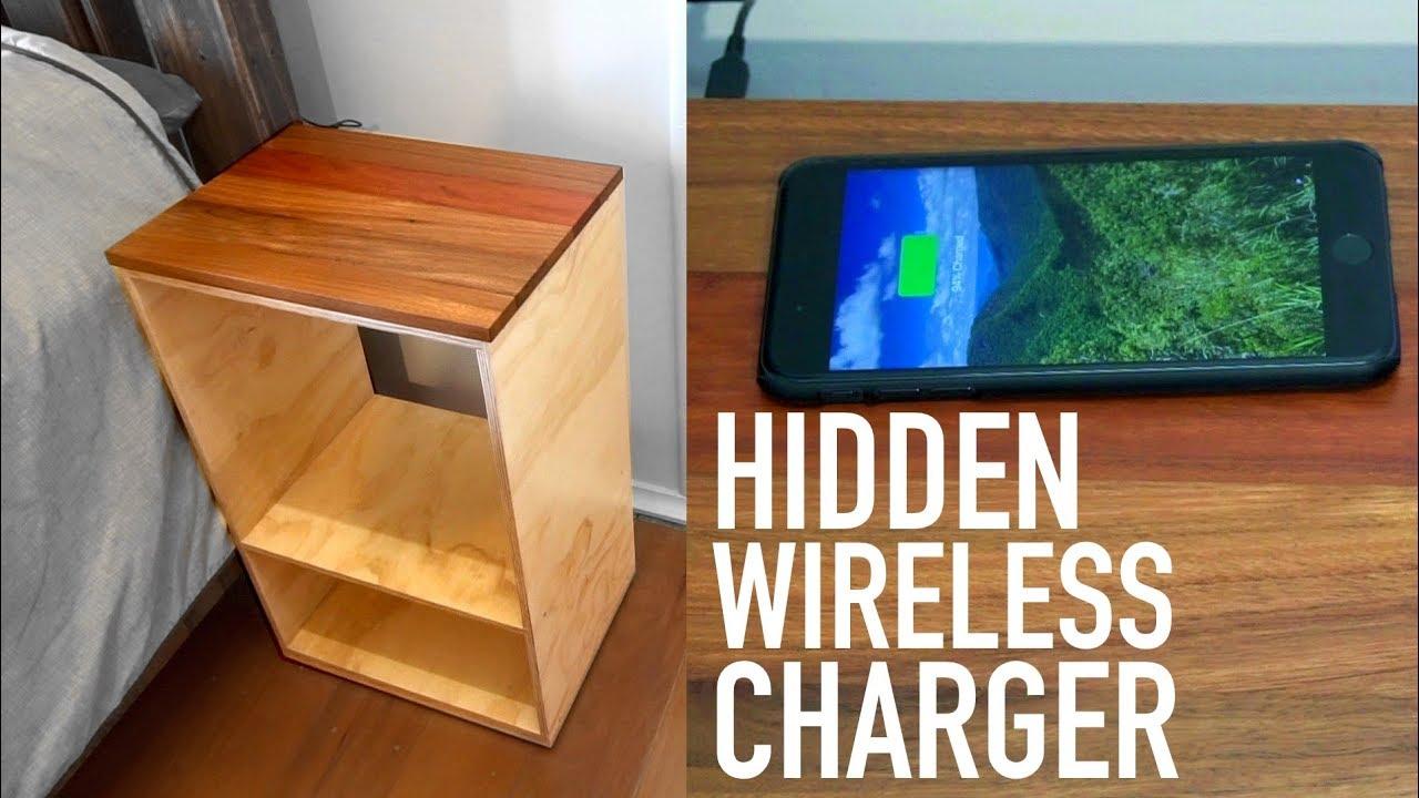 #woodworking #wirelesscharging #howto