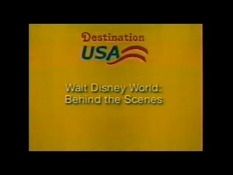 Walt Disney World: Behind the Scenes (2002) - Travel Channel doc