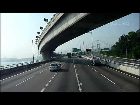 [Hong Kong Bus Ride] 九巴 3ASV147 @ 260X 紅磡站 - 屯門公路(掃管笏) [往 屯門(寶田邨)]