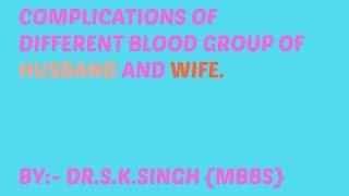 Body Fluids and Circulation class 11 Biology   / RH factor for NEET ,AIIMS,