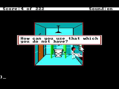 LEISURE SUIT LARRY 1 - In the land of the lounge lizards Play-through Part 1 of 5 |